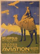 Vintage French poster - Great week of aviation (1910)